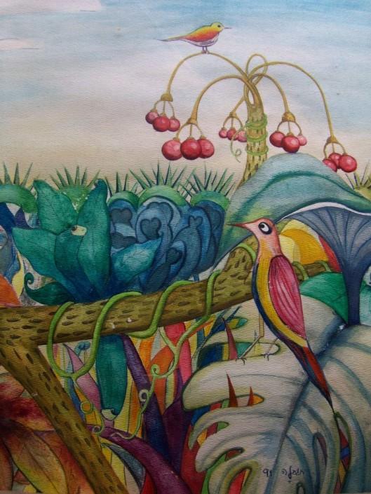 אופטימיות ומנהיגות - ציור של רות תותלה פרויד