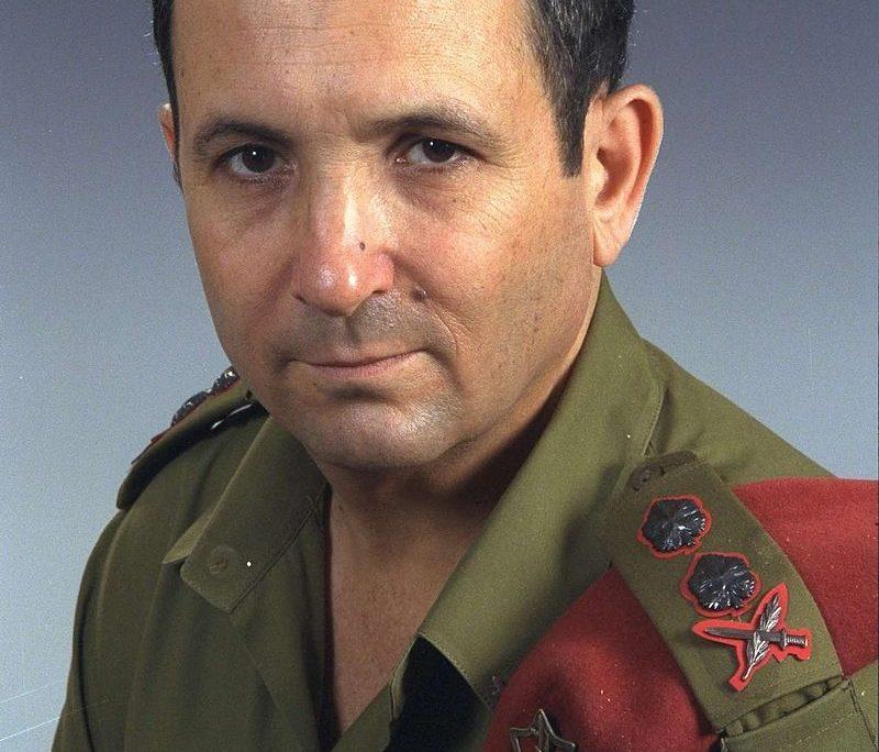 800px-Ehud_Barak_military