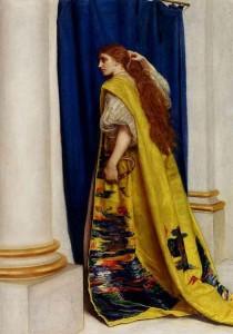 אסתר המלכה - ציור שמן של ג'ון אוורט מיליי