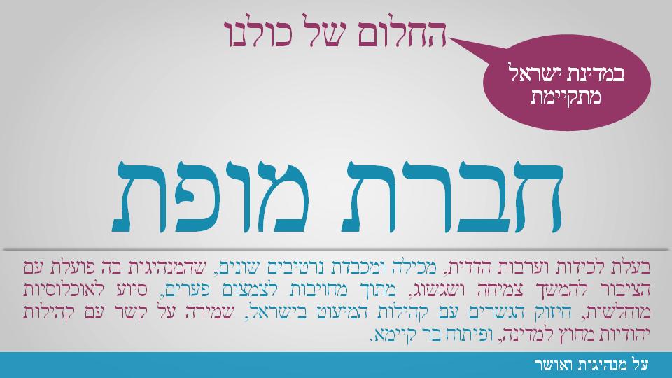 חברת מופת בישראל, יזמות חברתית